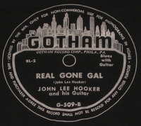 "Gotham ""Real Gone Gal"" (John Lee Hooker)"
