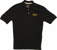 Checker Records polo (blk/gld)