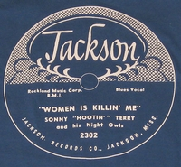 "Jackson ""Women Is Killing Me"" (Sonny Hootin' Terry)"