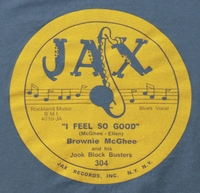 "Jax ""I Feel So Good"" (Brownie McGhee)"