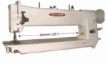 "Consew 206RBL-30"" Longarm Compound Walking Foot & Needle Feed Industrial Sewing Machine"