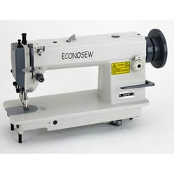 Econosew Walking-foot, Drop-feed Lockstitch Machine 727-5 for light leather & binding