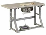 Industrial Machine Table with Motor