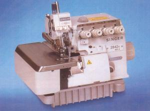 Singer 2831K001-4 High Speed, 3 Thread, Single Needle Industrial Overedge Serger Machine