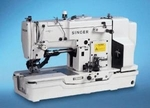 Singer 1371A2 Single Needle Lockstitch Buttonhole Industrial Sewing Machine