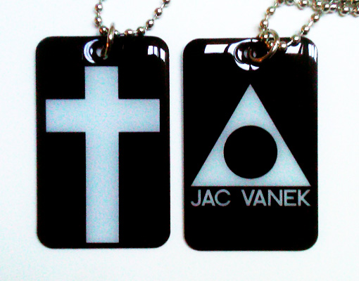 CROSS DOGTAG NECKLACE