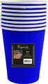 Blue 9oz. Hot/Cold Paper Cups 96ct.