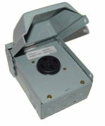 Midwest Power Outlet with 50 Amp Receptacle