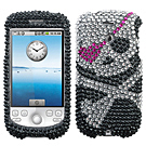 HTC MyTouch 3 / 3GS Diamante Phone Cases / Mytouch Diamante Hard Covers / Diamante Protector Covers / Snap On / Face Cover