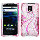 T-Mobile G2x LG P999 Diamante Phone Cases / Diamante Hard Covers / Diamante Protector Covers / Snap On / Face Cover