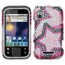 Motorola Flipside MB508 Diamante Protector Phone Cases