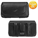 HTC AMAZE 4G LEATHER CASE / COVER / POUCH