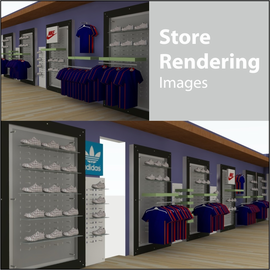 Store Rendering Images