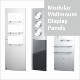 Modular Wallmount Retail Display Panels
