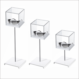 Cubo with Cubic Sunglass Platform