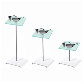 Cubo with Square Sunglass Platform