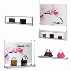 SX Hanging Window Bag Displays