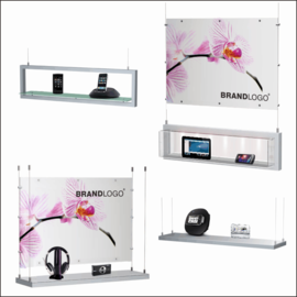 SX Hanging Window Cell & Electronics Displays