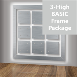 3-High BASIC Frame Package