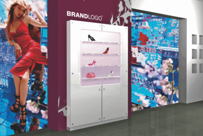LED Shoe Display Panels