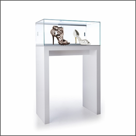 GL138-40 Pedestal Showcase for Shoes