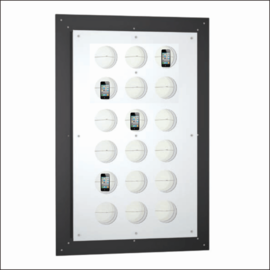 L.E.D. Illuminated Gallery Electronics Display Panels