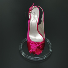 Round Base Single Shoe Display