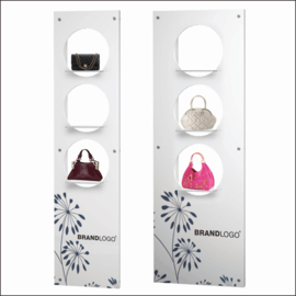 WV-360 Wallmount Bag Display Panels