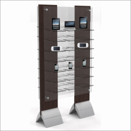Modular FloorStanding Wing Displays for Electronics