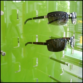 Pin Panel Sunglass Displays