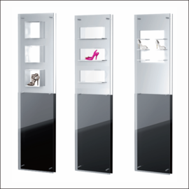 Double Display Panels for Shoes