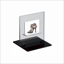 Windo-1 Counter Top Displays for Shoe