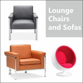 Lounge Chairs and Sofas