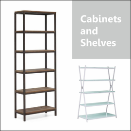 Cabinets and Shelves