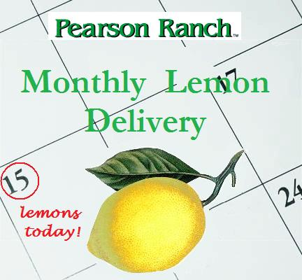 Monthly Lemon Delivery Program