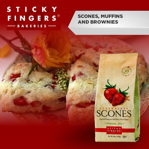 Sticky Fingers Scones, Muffins & Brownies