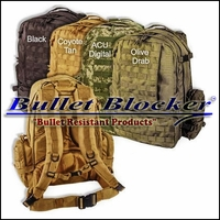 BulletBlocker NIJ IIIA Bulletproof Backpacks