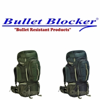 BulletBlocker NIJ IIIA Bulletproof 90 Backpack