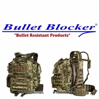 BulletBlocker NIJ IIIA Bulletproof Matrix Backpack