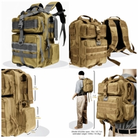 BulletBlocker NIJ IIIA Bulletproof Typhoon Backpack