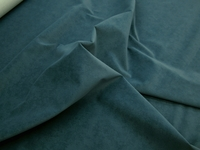 r9292, 3 3/4 yards of cobalt blue dimpled faux suede