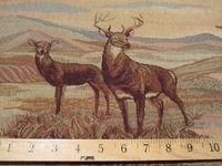 ft829, Deer Domain 10 point buck tapestry