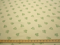 r9602, 4.9 yards of leaf pattern tapestry upholstery fabric