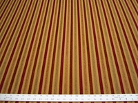 r9706, 3 7/8 yards stripe chenille mix upholstery fabric