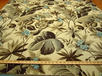 r9144, 2 1/4 yds Tropical Tapestry Upholstery