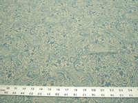 r9703, 2 5/8 yards paisley pattern upholstery fabric