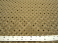 r9695, 2 3/4 yards diamond design upholstery fabric
