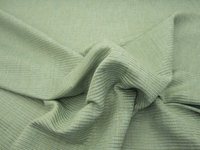r9190, 5 yards of Ribbed Textured Seacrest Green Upholstery Fabric