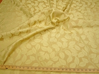 ft121, Medley Leaves Damask upholstery fabric color gold
