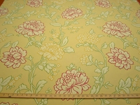 ft114, Simone Floral Multi Color Matelasse upholstery fabric color sun